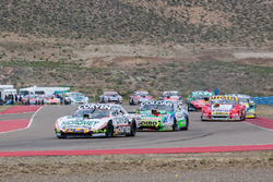 Juan Marcos Angelini, UR Racing Dodge, Gaston Mazzacane, Coiro Dole Racing Chevrolet, Juan Manuel Silva, Catalan Magni Motorsport Ford