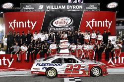 Sam Hornish Jr., Team Penske Ford Penske Racing wins the manufacture's Championship