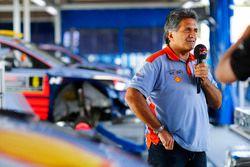 Michel Nandan, team principal de Hyundai Motorsport