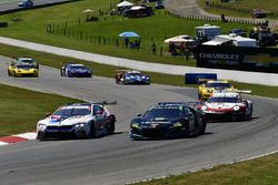 #24 BMW Team RLL BMW M8, GTLM: John Edwards, Jesse Krohn, #86 Michael Shank Racing with Curb-Agajanian Acura NSX, GTD: Katherine Legge, Alvaro Parente