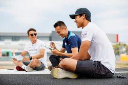 Media Activities. Nyck De Vries, PREMA Racing, Alexander Albon, DAMS, Sean Gelael, PREMA Racing