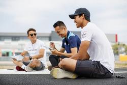 Medya aktiviteleri; Nyck De Vries, PREMA Racing, Alexander Albon, DAMS, Sean Gelael, PREMA Racing