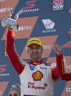 Podium : second place Fabian Coulthard, Team Penske Ford