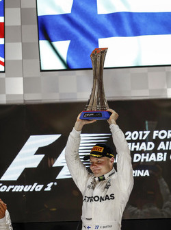 Podium: Race winner Valtteri Bottas, Mercedes AMG F1