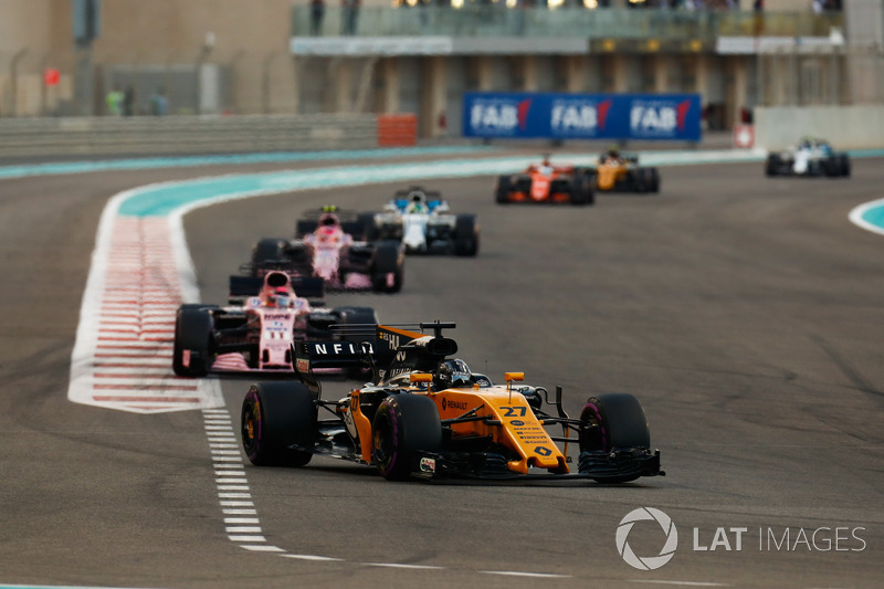 Hulkenberg felt Perez pushed him wide. Perez, however, had a different opinion