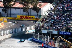 Oliver Turvey, NIO Formula E Team, with Nicolas Prost, Renault e.Dams & Lucas di Grassi, Audi Sport