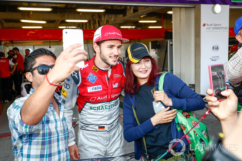 Fans con Daniel Abt, Audi Sport ABT Schaeffler