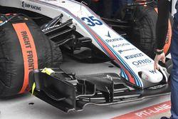 Williams FW41, splitter