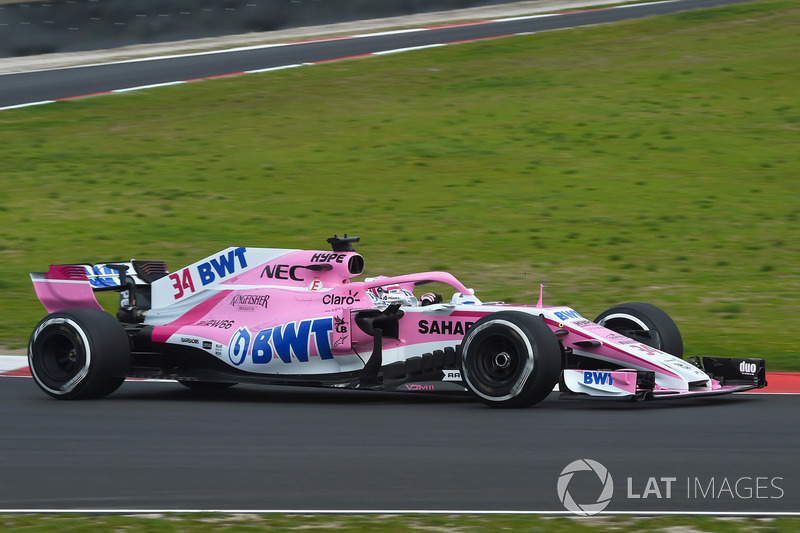 Nikita Mazepin, Sahara Sahara Force India F1 VJM11