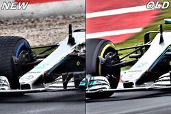 Mercedes F1 W09 cape