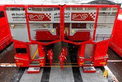 Nevica sull'Hospitality Ferrari
