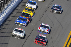 Gray Gaulding, BK Racing, Toyota Camry and Austin Dillon, Richard Childress Racing Chevrolet Camaro
