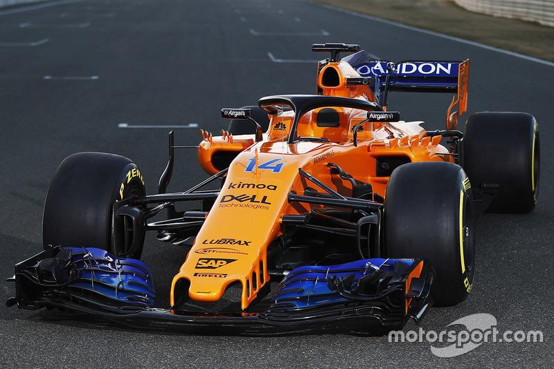 Primeiro pódio da McLaren com motor Renault