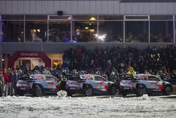Andreas Mikkelsen, Anders Jäger, Hyundai i20 WRC, Hyundai Motorsport, Hayden Paddon, Sebastian Marsh