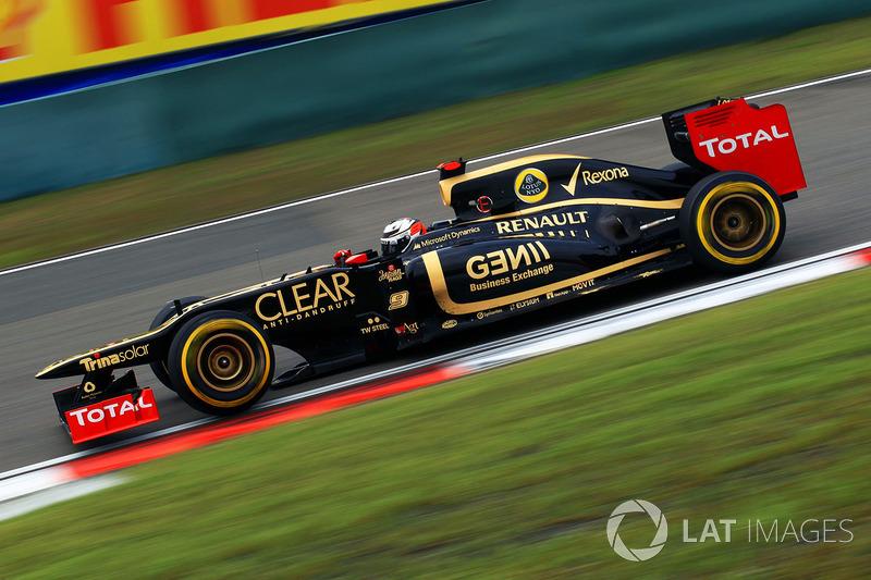 2012 : Kimi Räikkönen, Lotus E20