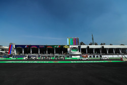 Paddock grandstand and Track View