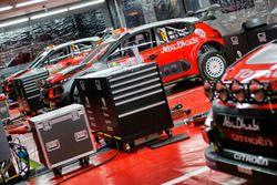 The car of of Craig Breen, Scott Martin, Citroën C3 WRC, Citroën World Rally Team