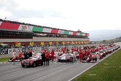 Foto de grupo, Ferrari