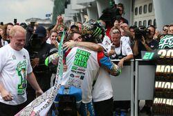 Derde en kampioen Franco Morbidelli, Marc VDS