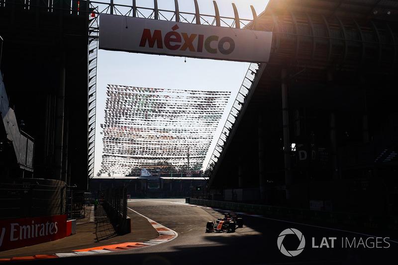 """Pese a la sanción en parrilla, Alonso dijo tener el """"mejor coche"""" en México"""