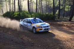 Alexandros Tsoulaftas, Antonis Chrystomou, Mitsubishi Lancer Evo IX, Toksport WRT