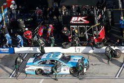 Gray Gaulding, BK Racing Toyota pit stop