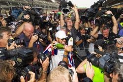 Le Champion du monde 2017 Lewis Hamilton, Mercedes AMG F1