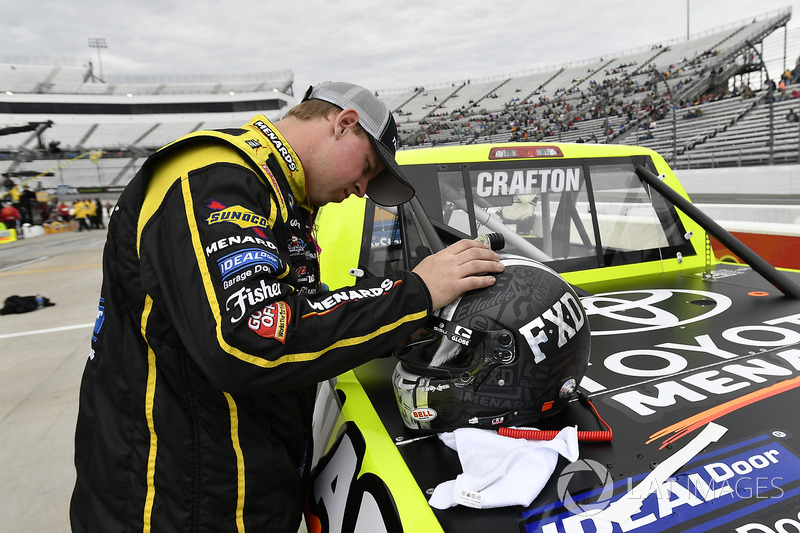Matt Crafton, ThorSport Racing Toyota crew