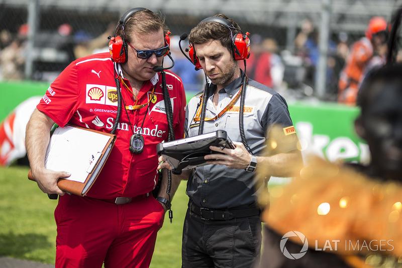 Dave Greenwood, Ferrari