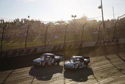 Todd Gilliland, Kyle Busch Motorsports, Toyota Tundra JBL/SiriusXM and Logan Seavey, Kyle Busch Motorsports, Toyota Tundra Mobil 1