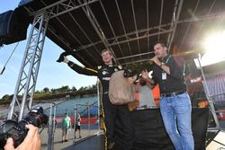 Nico Hulkenberg, Renault Sport F1 Team on stage