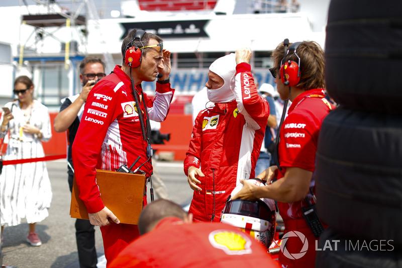 Sebastian Vettel, Ferrar