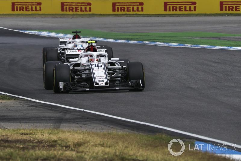 15e : Charles Leclerc (Alfa Romeo Sauber)