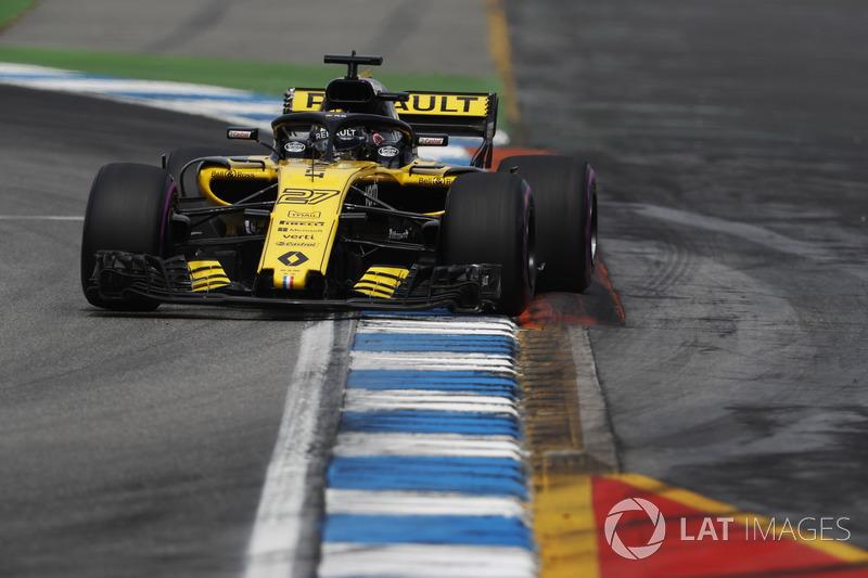 Nico Hulkenberg conseguiu um ótimo quinto lugar para a Renault