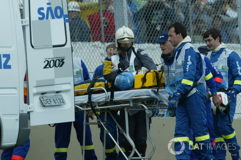 Эвакуация Фернандо Алонсо, Renault F1 Team