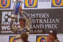 1. Thierry Boutsen, Williams; 3. Riccardo Patrese, Williams