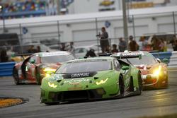 #11 GRT Grasser Racing Team Lamborghini Huracan GT3: Rolf Ineichen, Mirko Bortolotti, Franck Perera,