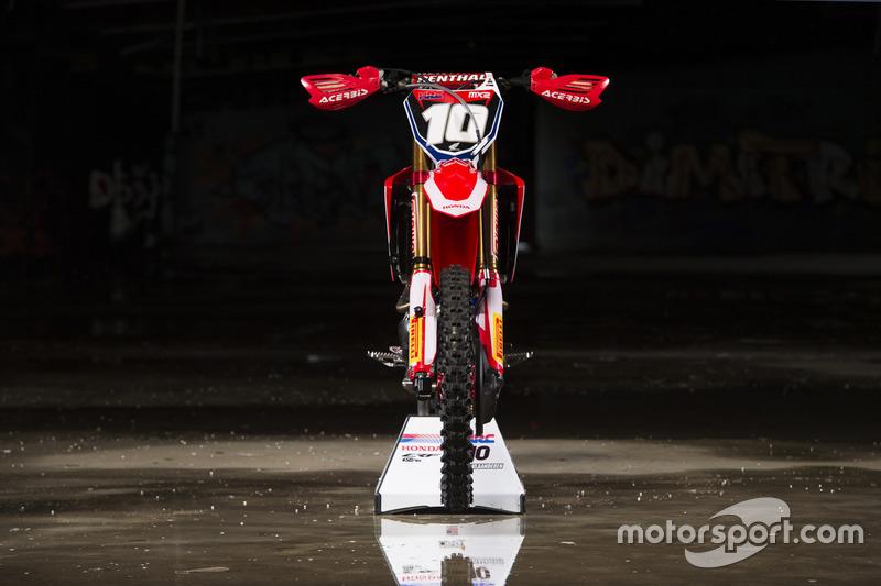 MX2: Bike of Calvin Vlaanderen, Team HRC