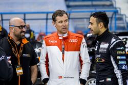 Tom Kristensen y Khaled Al Qubaisi