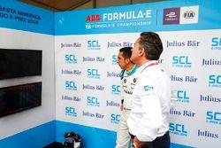 Sébastien Buemi, Renault e.Dams, Alejandro Agag, Formula E CEO