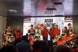 Michael Ruben Rinaldi, Marco Melandri, Chaz Davies, Ducati Team