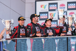 Podio Pro-AM: al secondo posto David Calvert-Jones, Patrick Long, Matt Campbell, Alex Davison, Competition Motorsports