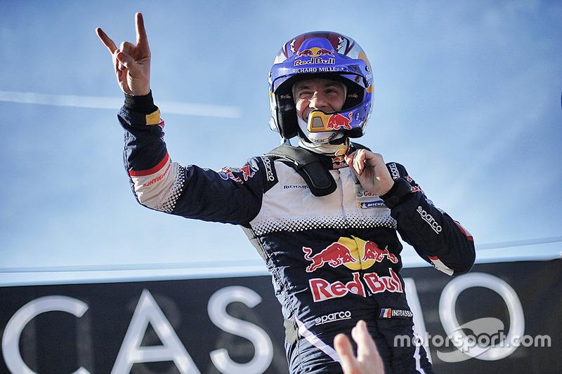 Le vainqueur Julien Ingrassia, M-Sport Ford