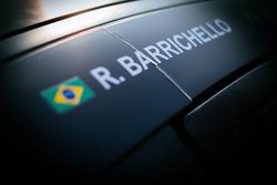 #44 Strakka Racing Mercedes-AMG GT3: Rubens Barrichello name on the car