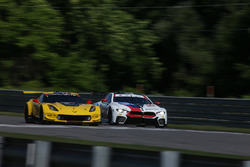 #4 Corvette Racing Chevrolet Corvette C7.R, GTLM: Oliver Gavin, Tommy Milner, #25 BMW Team RLL BMW M8, GTLM: Alexander Sims, Connor de Phillippi