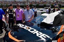 Kasey Kahne, Leavine Family Racing, Chevrolet Camaro Procore meet and greet