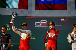 Podium: Leonardo Pulcini, Campos Racing