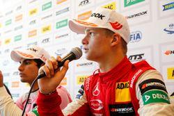 Press conference, Ralf Aron, PREMA Theodore Racing Dallara F317 - Mercedes-Benz