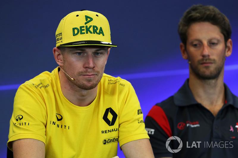 Haas no oculta que quiere Hulkenberg... aunque la continuidad de Grosjean no está del todo descartada