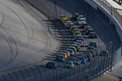 Double-File-Racing in Talladega